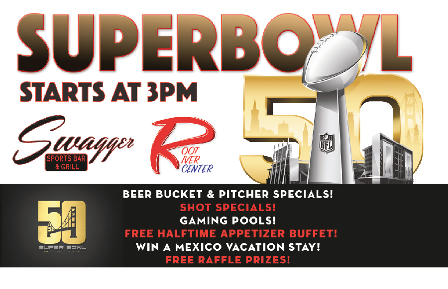 Superbowl 50 Flyer