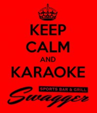 Karaoke at Swagger Sports Bar and Grill Every Wednesday Night