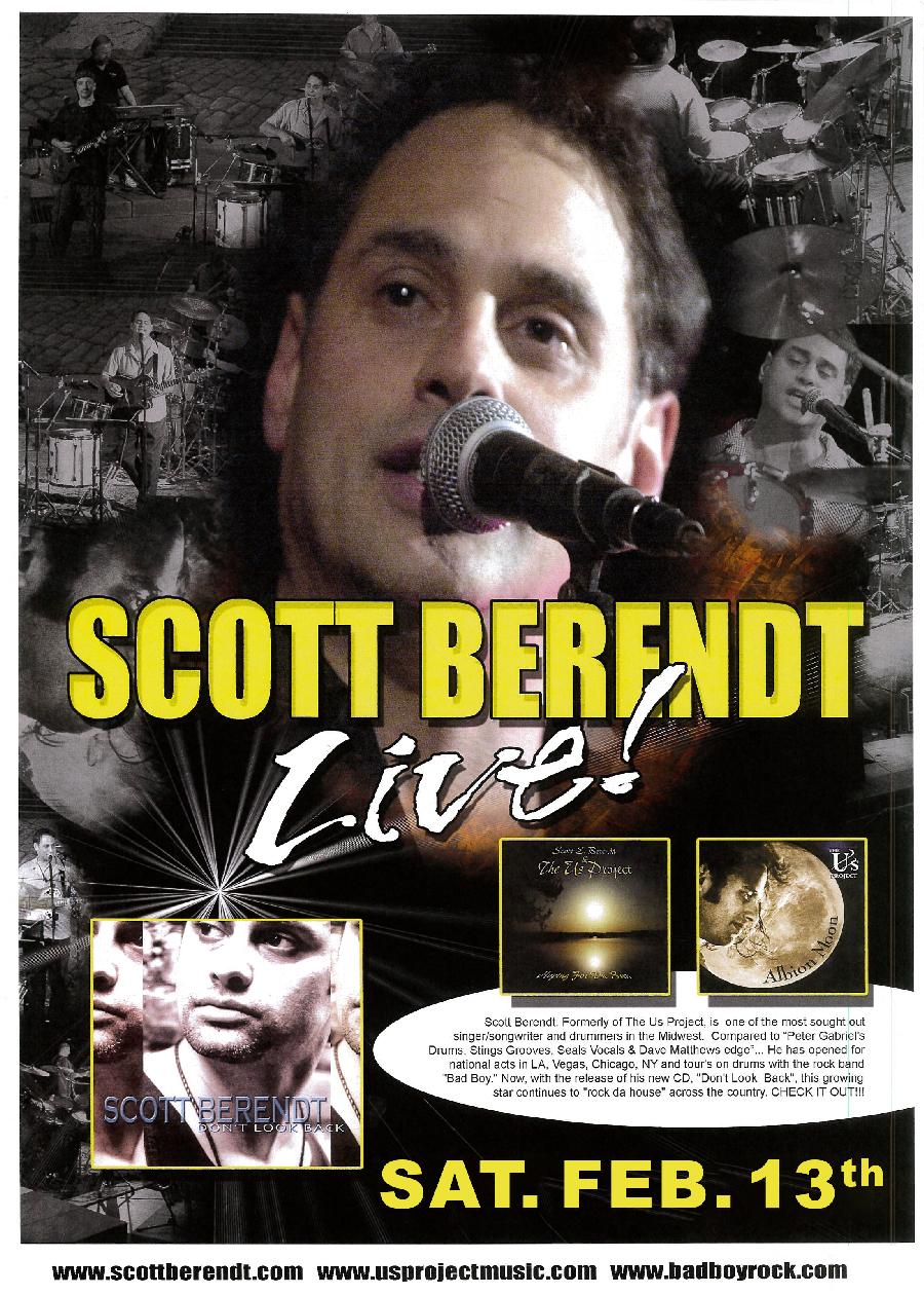 Scott Berendt Flyer