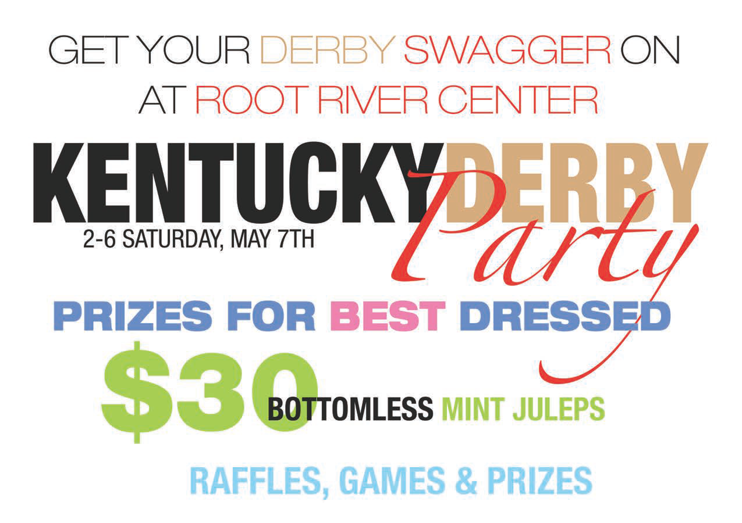 Kentucky Derby Party at Root River Center
