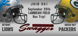 2016 Lambeau Field Bus Trip