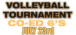 July 2016 Volleyball Tournament