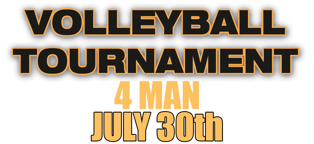 July 30th 2016 Volleyball Tournament