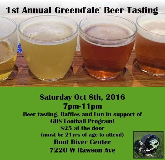 Greendale Beer Tasting