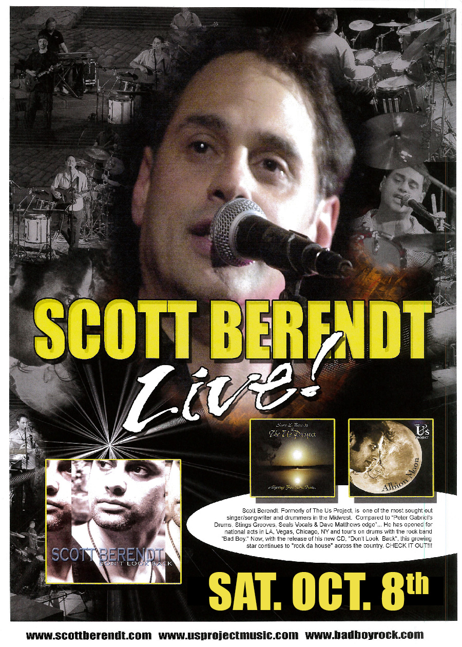 Scott Berendt Sat Oct 8th 2016