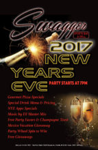2016 Swagger Sports Bar New Years Eve Bash