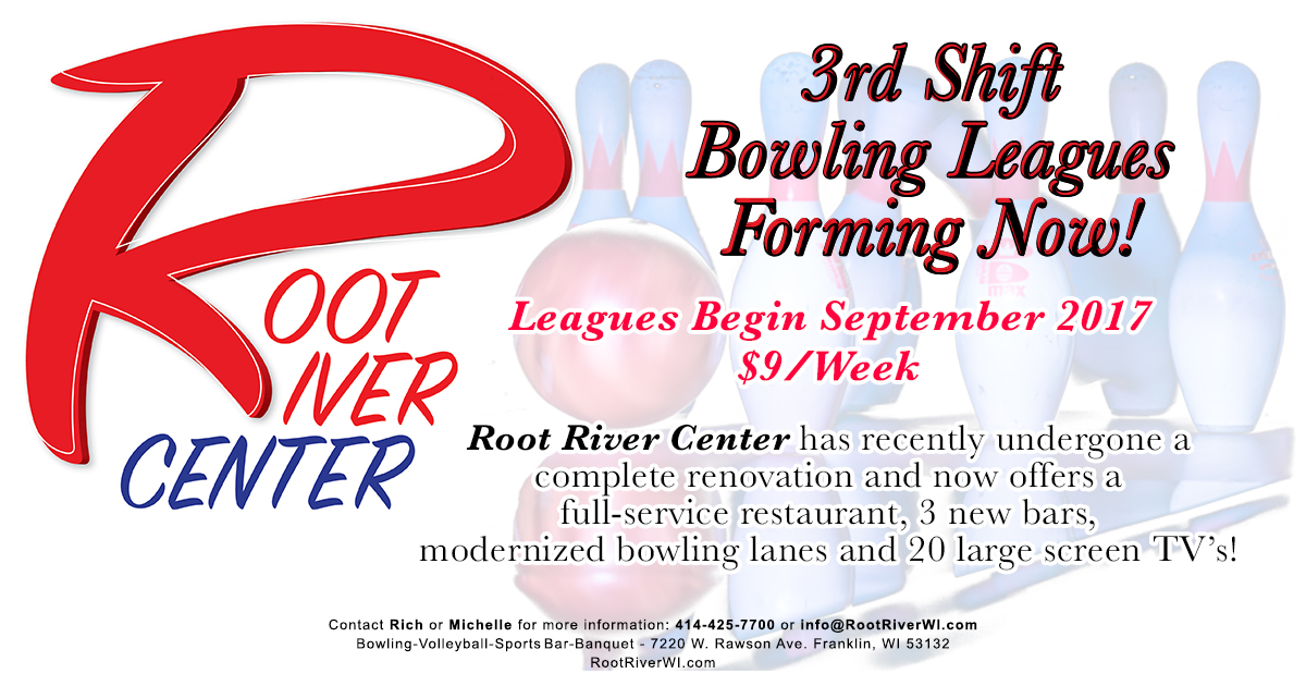 3rd Shift Bowling League Fall 2017