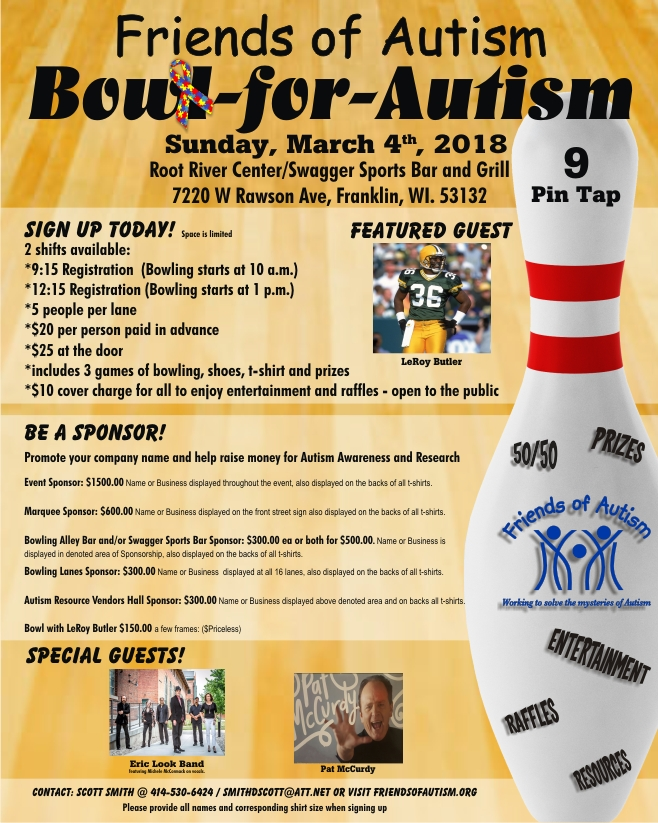 friends of autism bowl for autism