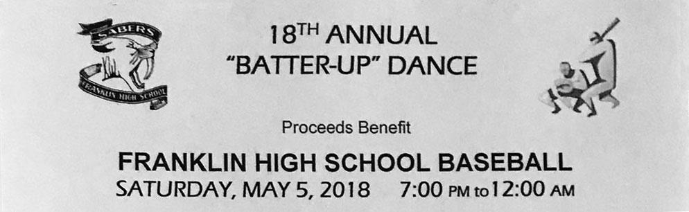 Franklin High School Batter-Up Dance Fundraiser