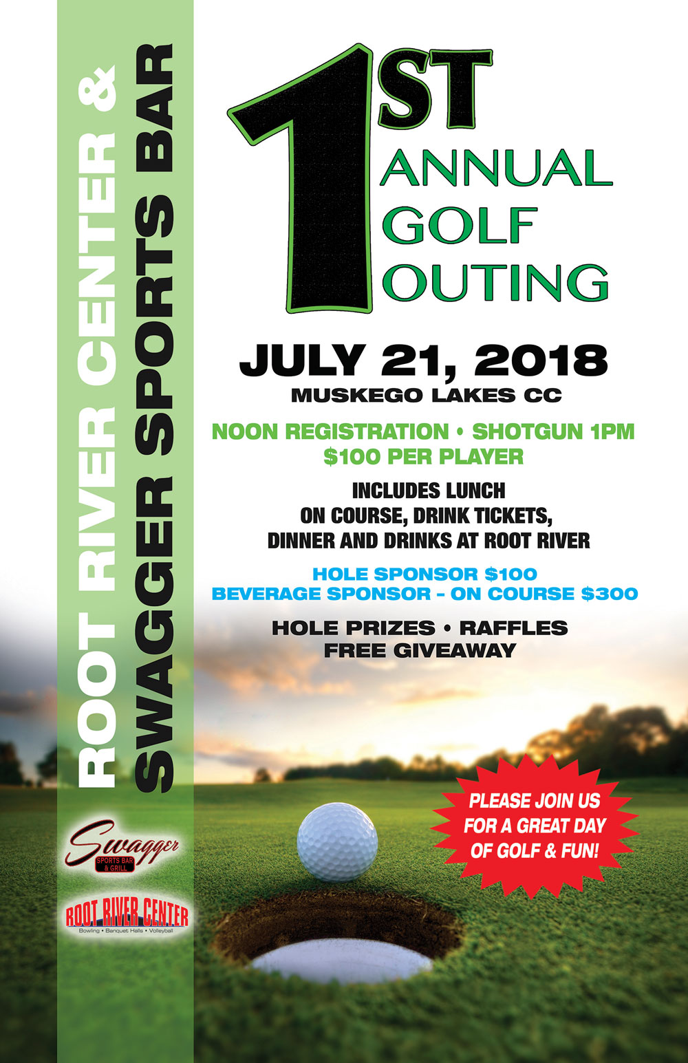 RRC 1st Annual Golf Outing