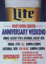 2019 Anniversary Weekend Flyer