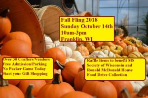 2018 Fall Fling Craft Fair
