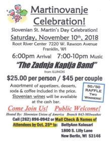 Martinovanje Celebration 2018