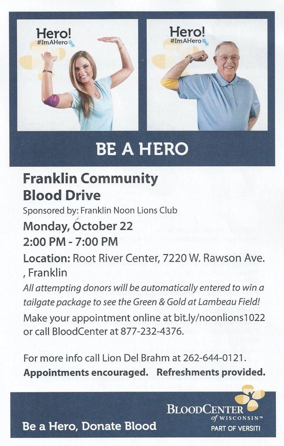 Franklin Community Blood Drive