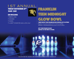 Franklin Teen Glow Bowl 2018