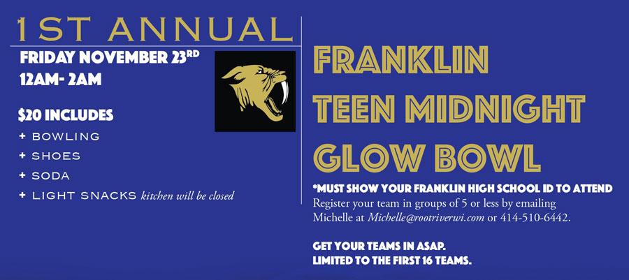 Franklin Teen Glow Bowl 2018