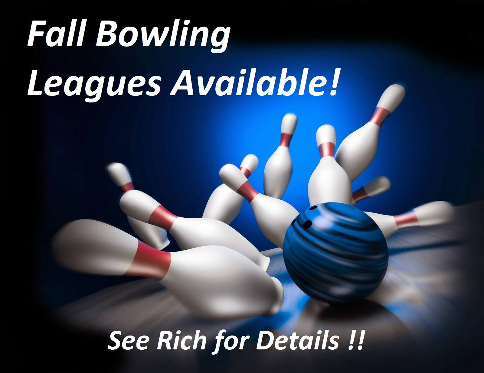 Fall Bowling Leagues