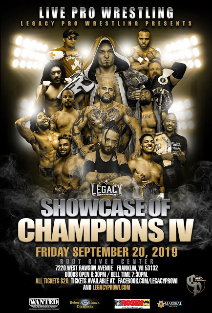 Showcase of Champions IV Poster