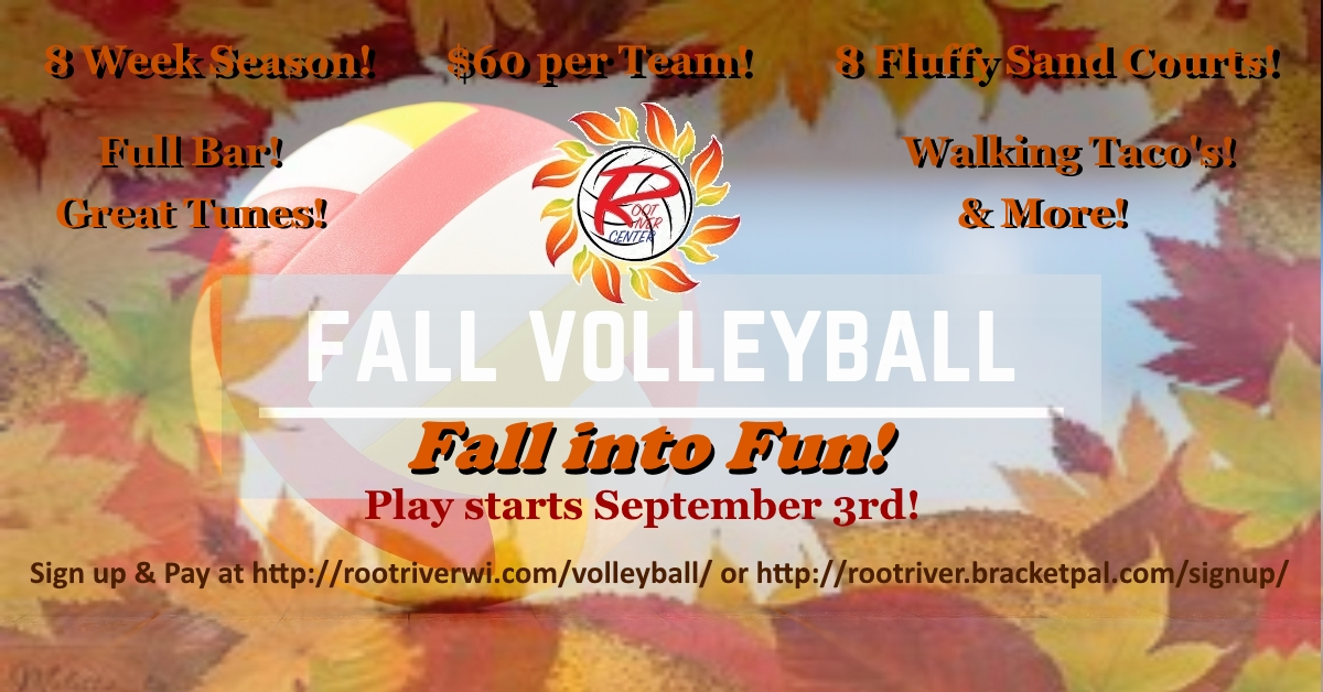 2019 Fall Volleyball Registration